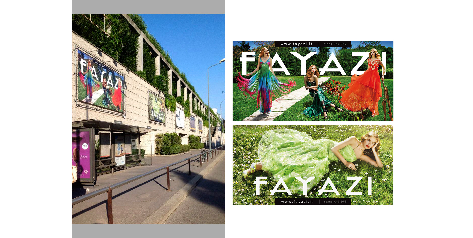 billboards FayaziFashion • adeadpixel
