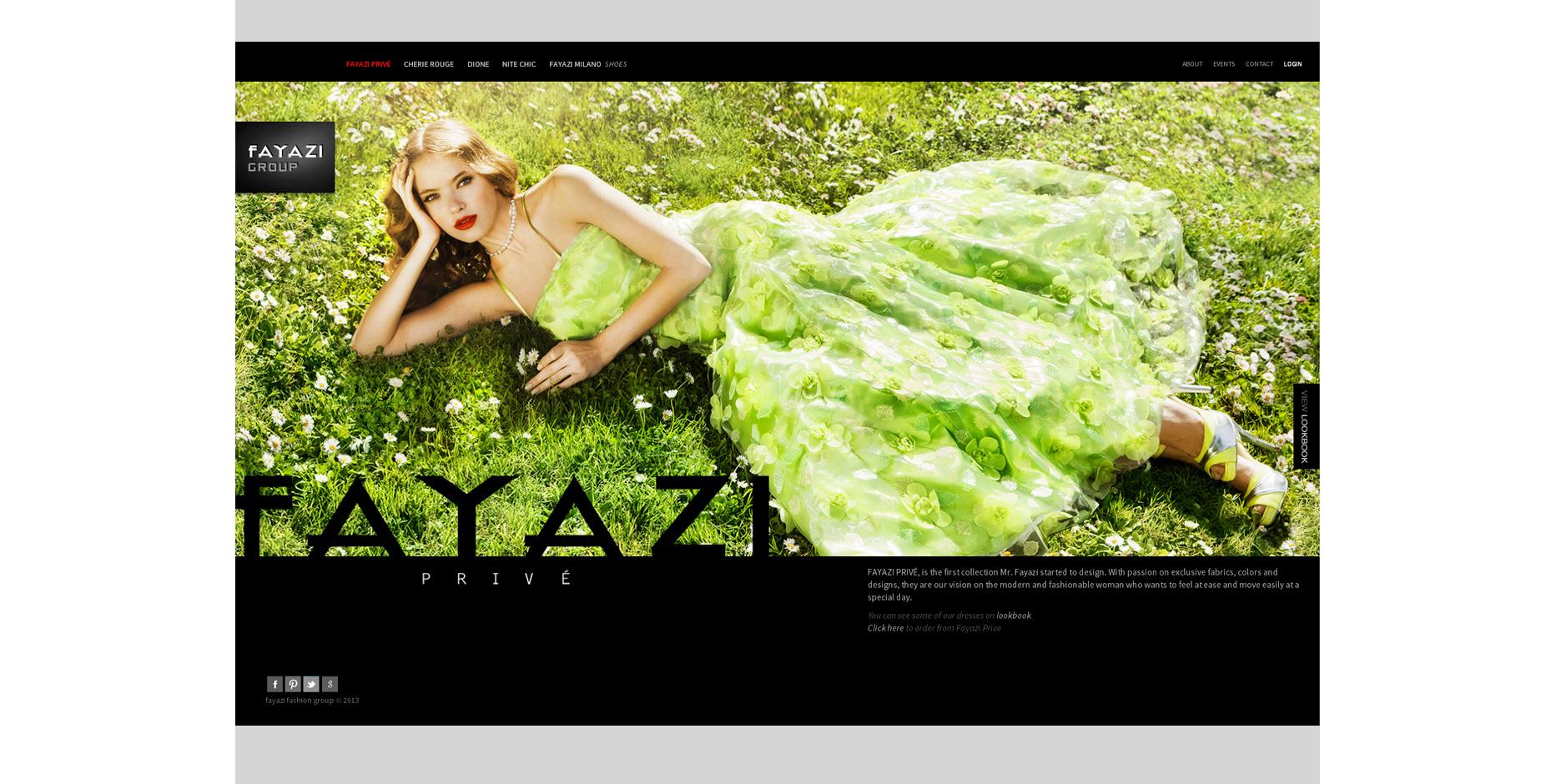 Σχεδιασμός & ανάπτυξη ιστοσελίδας FayaziFashion • adeadpixel
