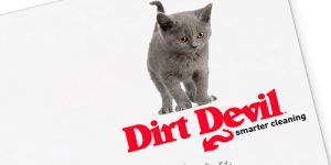 Εξώφυλλο διαφημιστικού εντύπου Fello Dirt Devil • adeadpixel