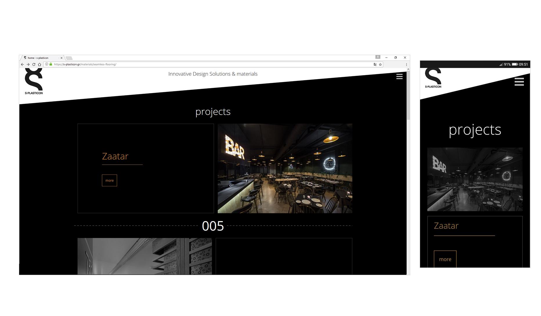 web design s-plasticon • adeadpixel